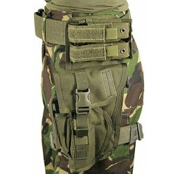 Blackhawk! Special Operations Holster, Olive Drab, Left Hand (Most Large Frame Weapons)