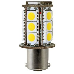 3 Watt - Dimmable Led - S8 - Sc Bayonet Base - 3000K Halogen White - 350 Lumens - 20 Watt Equal - 12 Volt - Plt