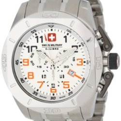 Swiss Military Calibre Men'S 06-5D1-04-001.79 Defender Chronograph Date Stainless-Steel Bracelet Watch
