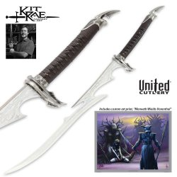 United Cutlery Kr0054A Kit Rae Vorenthul Sword Of Avonthia, Autographed Edition