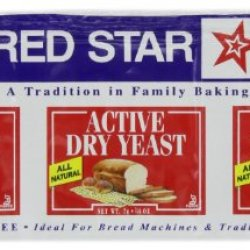 Red Star Active Dry Yeast, For Use In Your Oven Or Bread Machine, 2012 Chef'S Best Taste Award, 0.75 Oz (Pack Of 6)