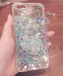 Amstreak-iPhone-6-Plus-6S-Plus-55-Case-Funny-Glitter-Shining-Heart-Liquid-Quicksand-Fuck-Boy-and-Bitch-Repellent-Cleaning-Spray-Hard-PC-Case