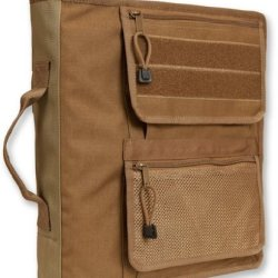 "Tactical 3-Ring Xtra Large Binder Briefcase (2 1/2"") Coyote Brown, 2090_1"