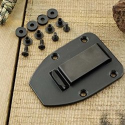 Esee Knives: Belt Clip Plate For Esee Knives' 3 & 4 Series Knives