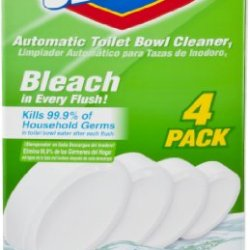 Clorox Automatic Toilet Bowl Cleaner, 3.5 Ounce, 4 Count