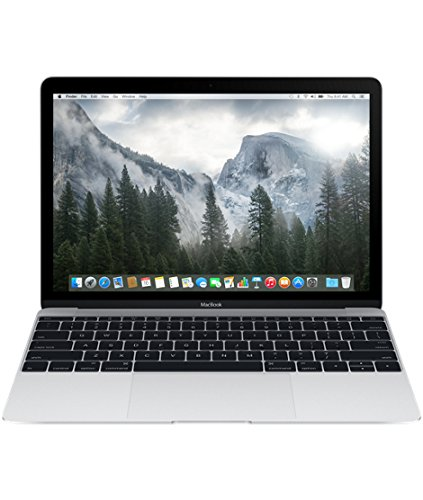 Apple MacBook MF865HN/A 12-inch Retina Display Laptop (Intel Core M/8GB/512GB/OS X Yosemite/Intel HD Graphics 5300), Silver