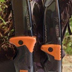 Gerber Bear Grylls Series Scout Folding Clip Knife And Folding Sheath Knife
