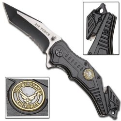 Air Force Vertigo Spring Assisted Knife