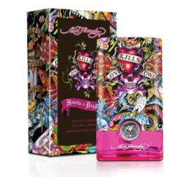 Ed Hardy Hearts & Daggers By Christian Audigier For Women - 3.4 Oz Edp Spray