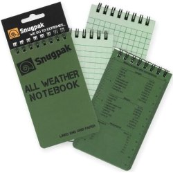 "All Weather Notebook 3"" X 5"" Od"