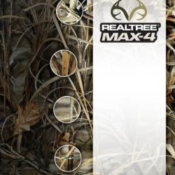 Camo Form Protective Camouflage Fabric Wrap (Realtree Max 4)