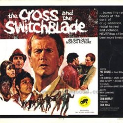 The Cross And The Switchblade Poster Half Sheet 22X28 Pat Boone Erik Estrada Jackie Giroux