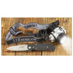 Crkt Ron Lake 111 Zytel Folding Knife And Led Headlamp Combo