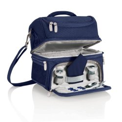 Picnic Time Pranzo Insulated Lunch Tote, Navy