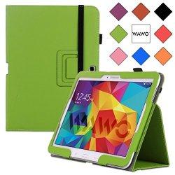 Wawo Samsung Galaxy Tab 4 10.1 Inch Tablet Smart Cover Creative Folio Case (Green)