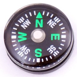 Sodial(Tm) Wholesale Lot 24Pcs 20Mm Small Mini Compasses For Survival Kit