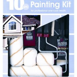Gam Paint Brushes Pt03510 10-Piece Professional Painting Kit
