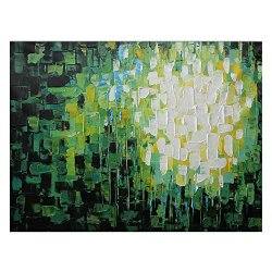 Malmo Wall Art Thomas Knives Oil Painting On Canvas Abstract Sunflower For Home Decor