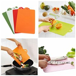 4X Antibacterial Flexible Cutting Board Chopping Mat