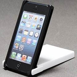 Trick Cover For Iphone 5 / 5S (Black X White) Plastic Case Cover Nunchaku Butterfly Knife Action