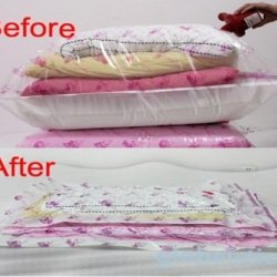 Seal Bags Extra Large Vacuum Storage Saving Space Bag With Top Quantity 50X70Cm