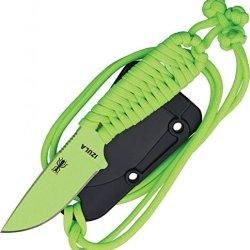 Esee Izula Venom Green Fixed Blade Knife,2.5In,Drop Point Izula Paracord Hanlde Venom Gr