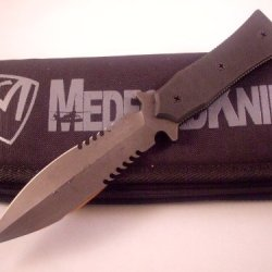Medford Knife And Tool Boa-P Black Ops Anti-Personnel Fighting Knife