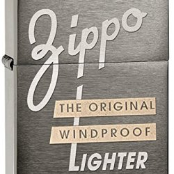 Zippo Black Ice 1941 Replica Windproof Lighter