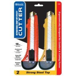 Bazic Steel Top Multipurpose Cutter, 2 Per Pack