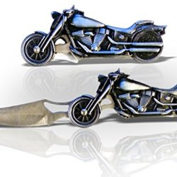 A1 Forge-Tek Quality Motorcycle Handle Folding Locking Stainless Pocket Knife