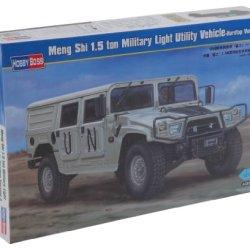 Hobby Boss Dong Feng Meng Shi 1.5 Tom Military Light Utility Hardtop Version A Vehicle Model Building Kit