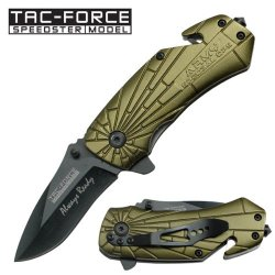 Tac Force Mini Rescue Knife - Army Special Ops