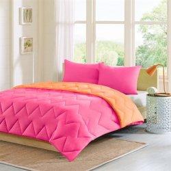 Intelligent Design Trixie Reversible Down Alternative Comforter Mini Set - Pink - King/Cal King