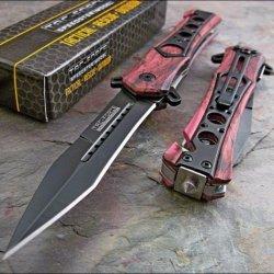 Tac-Force Pink Camo Seat Belt Glass Breaker Rescue Knife