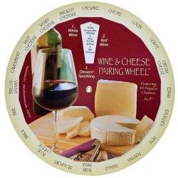 Wine & Cheese Pairing Wheel - 6137