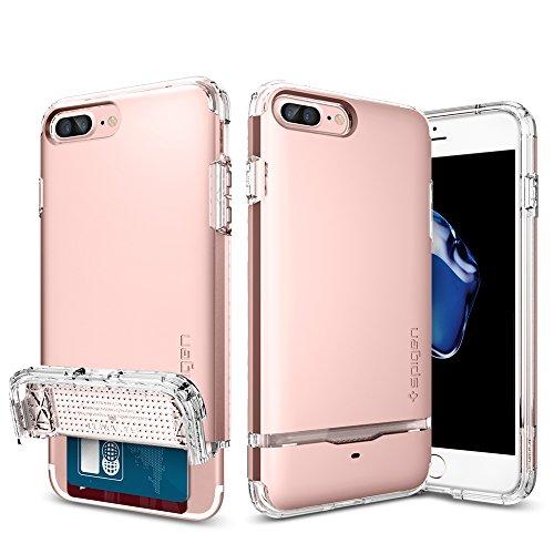 iPhone-7-Plus-Case-Spigen-Flip-Armor-Card-Holder-Rose-Gold-Slim-Fit-Dual-Layer-Protective-Wallet-Case-for-Apple-iPhone-7-Plus-043CS20821