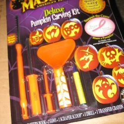 Pumpkin Masters Deluxe Carving Kit