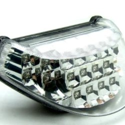 Rear Running Tail Turn Signal Light Integrated Led Motocycle Fit For Kawasaki 2000 01 02 03-2005 Zx-12R Chrome Clear