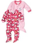 Gerber Baby-Girls Infant 2-Pack Cute Panda Blanket Sleeper
