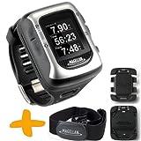 Magellan Switch UP GPS Sport-Uhr w / Pulsmesser & Halterungen (Crossover GPS-Uhr für mehrere Sportarten