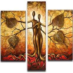 Sangu 5-Piece Tree Eden Idols Oil Painting Gift Canvas Wall Art