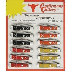 Cattleman'S Cutlery Cc0067T Knives Folder Knife Farriers Companion Tent Card