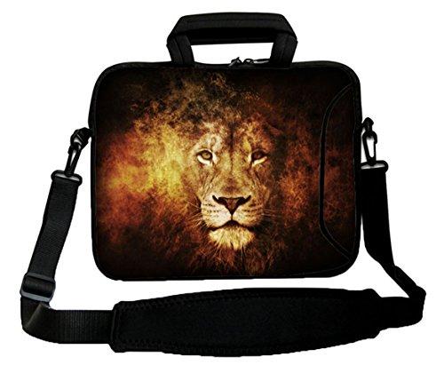 Waterfly-Lion-Sky-16-17-173-174-inch-Laptop-Notebook-Computer-Netbook-PC-Soft-Shoulder-Bag-Messenger-Bag-Case-Holder-Protector-Pack-With-Extra-Side-Pocket-For-Apple-MacBook-Pro-173-HP-ELITEBOOK-8740W-
