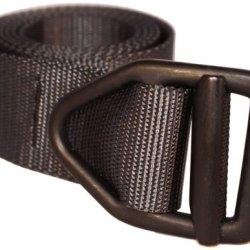 Bison Designs 38Mm Wide Light Duty Last Chance Belt With Black Buckle (Black, 38-Inch Maximum Waist/Medium)