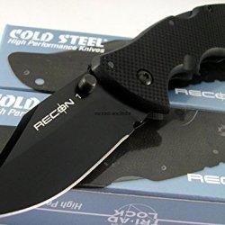 Cold Steel Tactical Mini Recon 1 Folder Aus-8A Blade Triad Lock G10 Knife 27Tmc