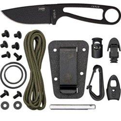 Esee Izula Black With Kit Fixed Blade Izulab-Kit