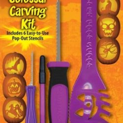 Colossal Pumpkin Carving Kit (Assorted Colors)