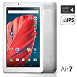 NeuTab174; 7 inch Quad Core Google Android 5.0 Lollipop Tablet PC 1GB RAM 8GB Nand Flash wide View IPS 1024x600 HD Display Bluetooth 4.0, Slim Metal Design, 1 Year US Warranty FCC Certified
