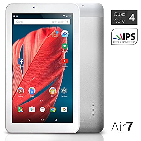 NeuTab Air 7 - Brilliant display The NeuTab Air 7 tablet is equipped with a vibrant 7'' HD IPS display that keepsthe picture sharp from practically any angle, ideal of reading, playing games,browsing the web, or watching movies. Fast launching and ...