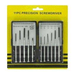 11 Pc Precision Screwdriver Set Case Pack 96